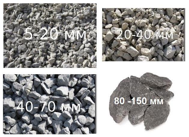 Щебень или гравий использовать для бетона как оштукатурить керамзитобетон