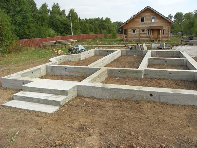 Бетон для ленточного фундамента купить купить бетона насос