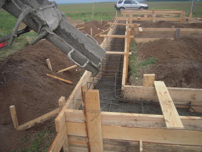 бетон для ленточного фундамента купить