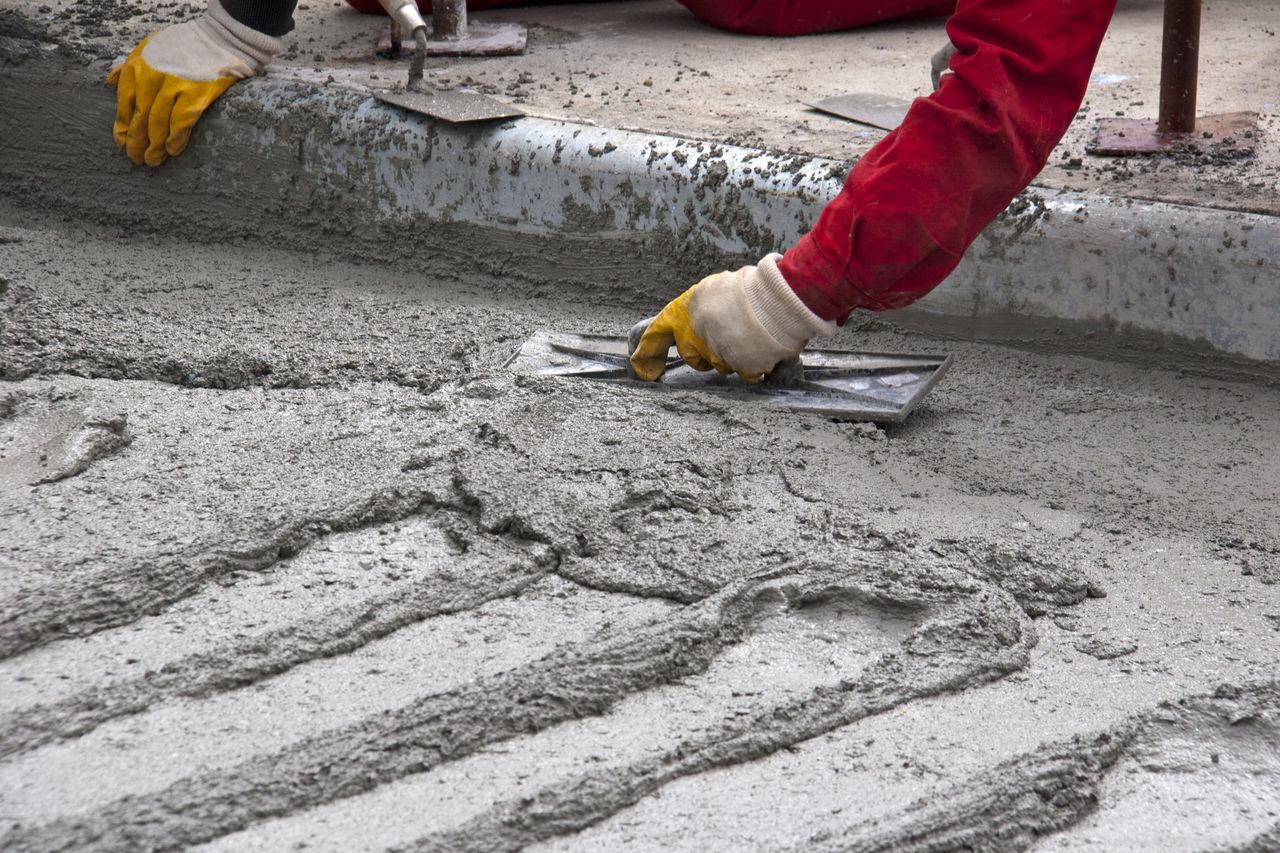 бетонная смесь на мелкозернистом заполнителе